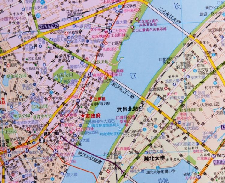 武汉地图2015