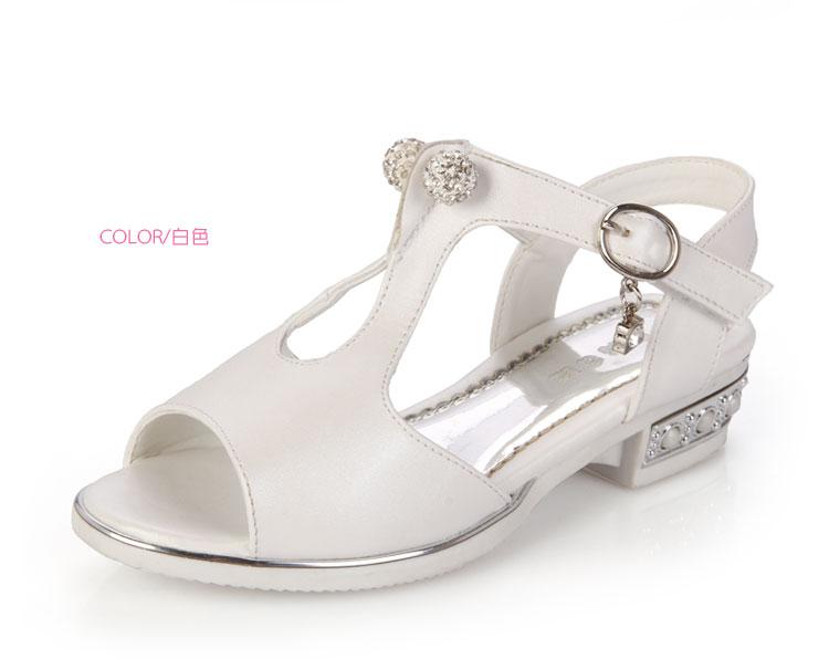 凉鞋公主鞋2015夏季新款儿童鞋女