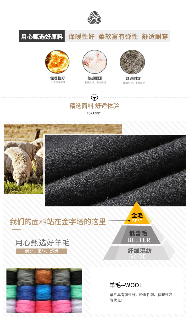 Áo len lông cừu nam Pierre Cardin 2017100 175 PEKDBB7736 - ảnh 3