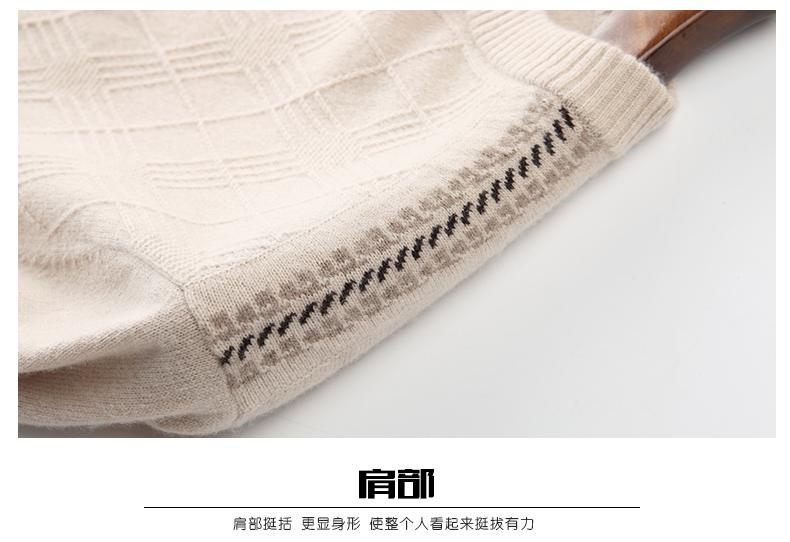 Áo len lông cừu nam Pierre Cardin 2017 180XL70 80KG YR001 - ảnh 25