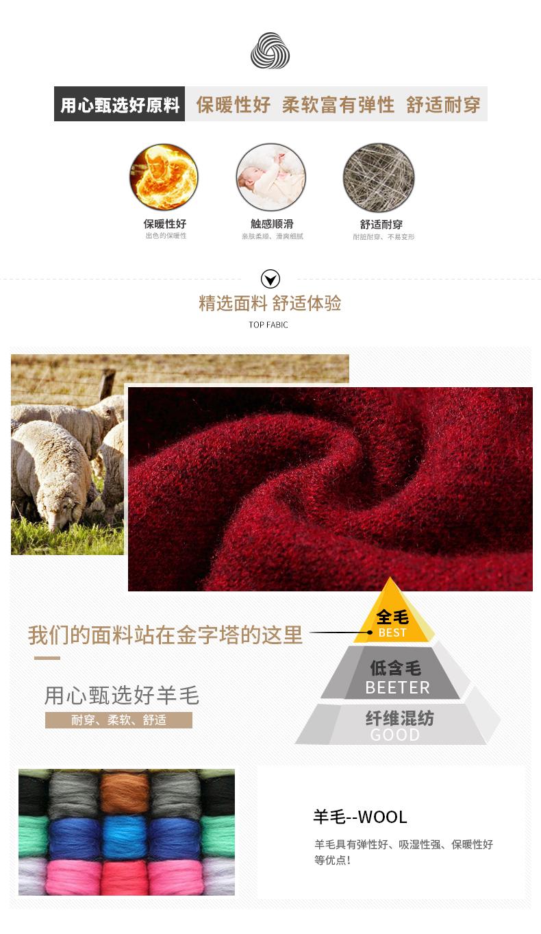 Áo len lông cừu nam Pierre Cardin 1002017 175 PEKDBB7750 - ảnh 3