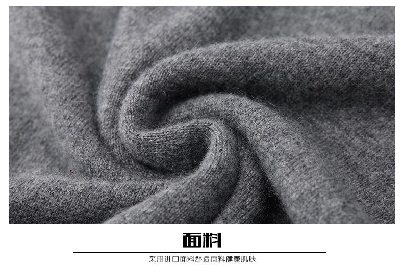 Áo len lông cừu nam Pierre Cardin 1002017 175L65 70KG WA095 - ảnh 29