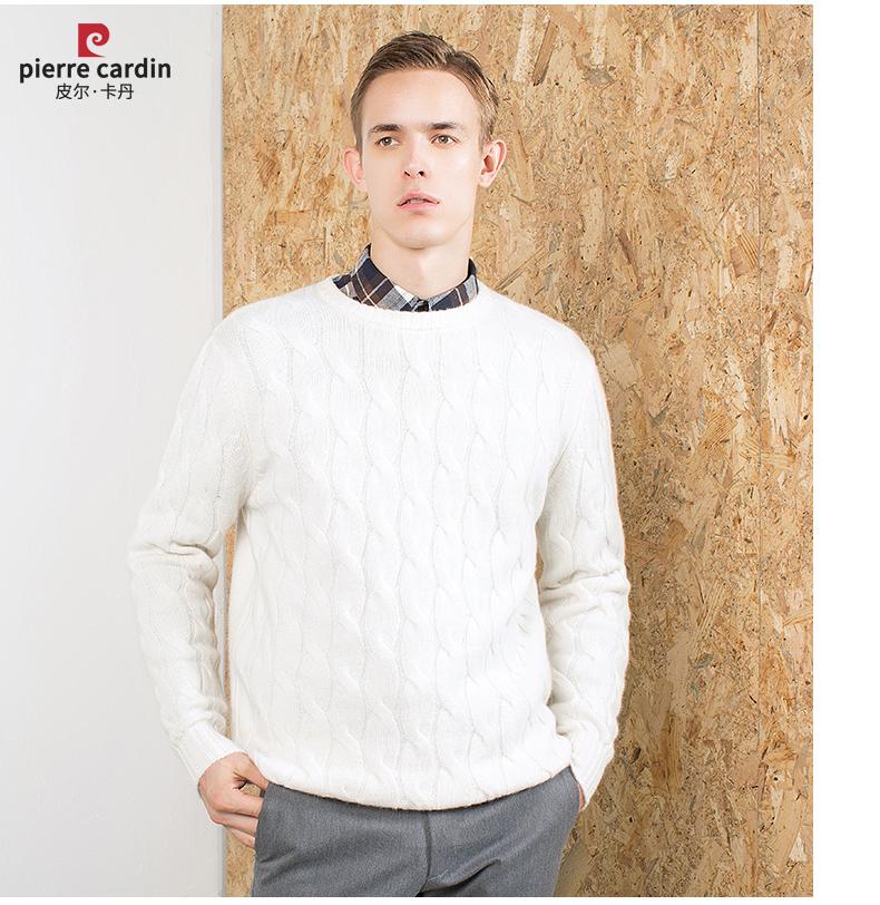 Áo len lông cừu nam Pierre Cardin 2017 180XL70 80KG WA78210 - ảnh 17