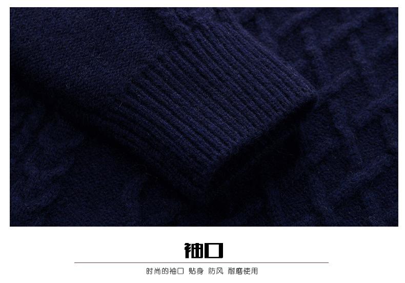 Áo len lông cừu nam Pierre Cardin 2017 180XL70 80KG WA86038 - ảnh 18