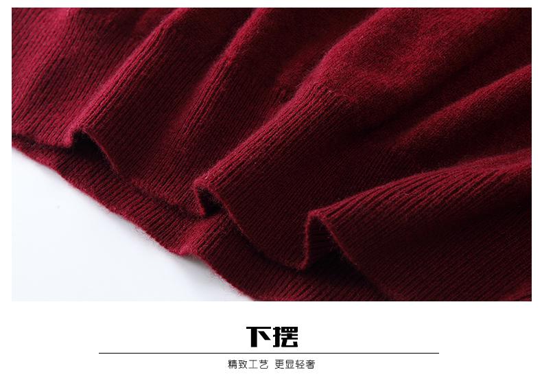 Áo len lông cừu nam Pierre Cardin V 175L65 70KG WA152 - ảnh 23