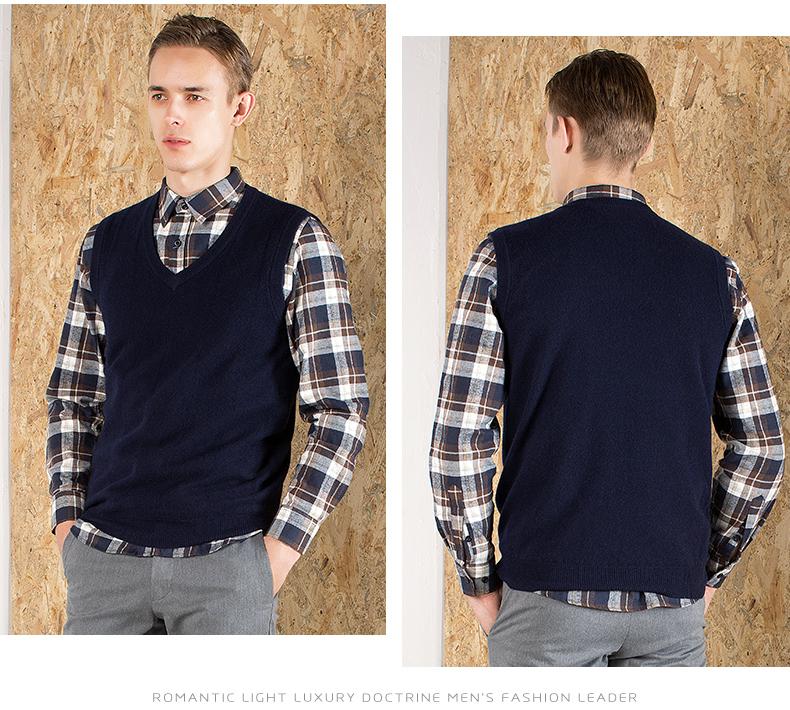 Áo len lông cừu nam Pierre Cardin V 175L65 70KG WA152 - ảnh 19