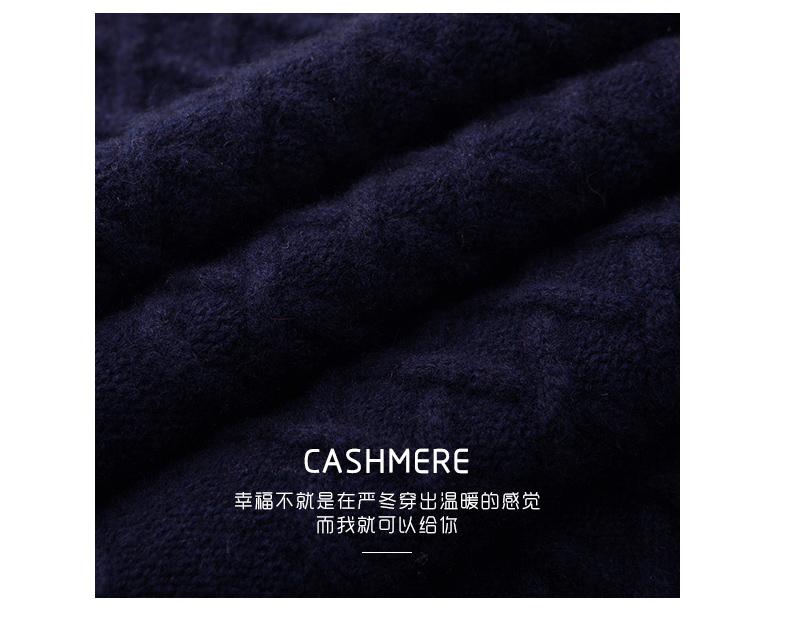 Áo len lông cừu nam Pierre Cardin 2017 180XL70 80KG WA86038 - ảnh 4