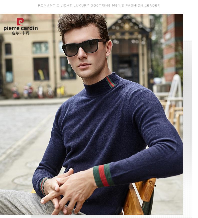 Áo len lông cừu nam Pierre Cardin 1002017 175L65 70KG WA095 - ảnh 22