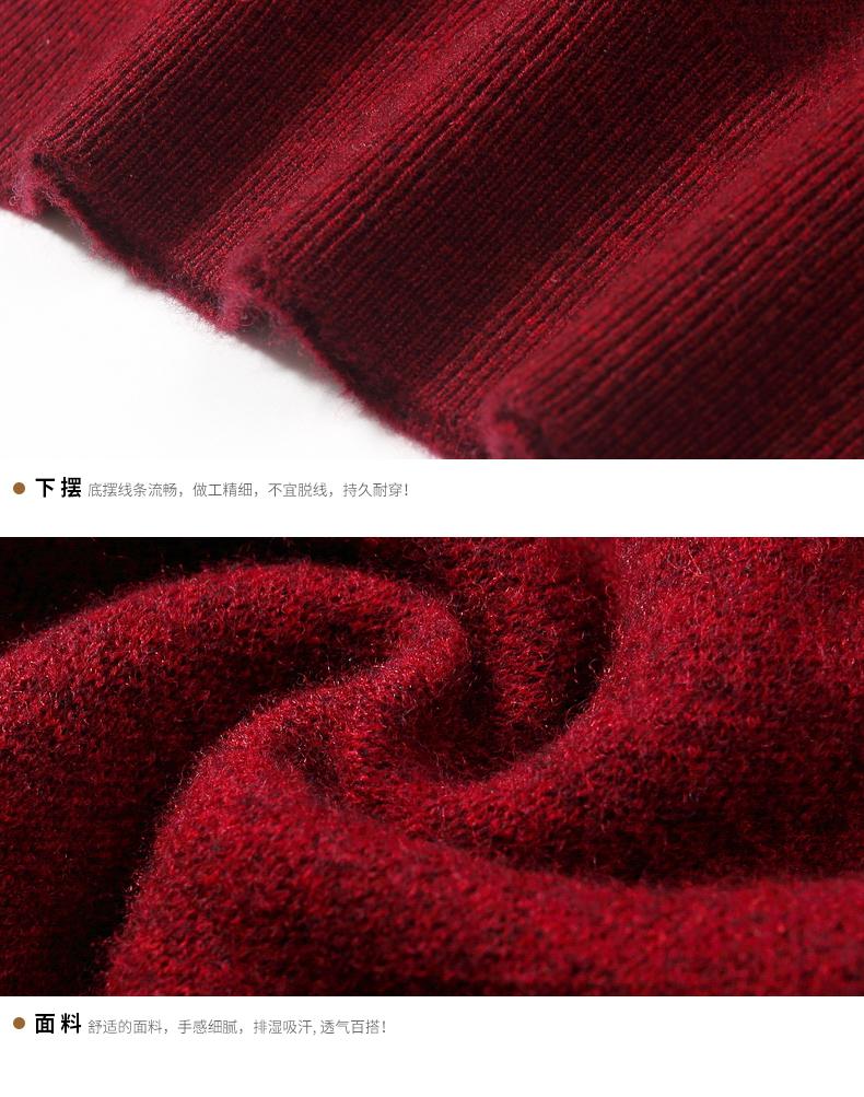 Áo len lông cừu nam Pierre Cardin 1002017 175 PEKDBB7750 - ảnh 19