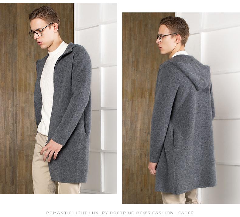 Áo len lông cừu nam Pierre Cardin 2017 180XL70 80KG WA78211 - ảnh 13