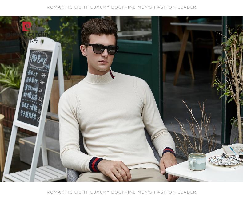 Áo len lông cừu nam Pierre Cardin 1002017 175L65 70KG WA095 - ảnh 20