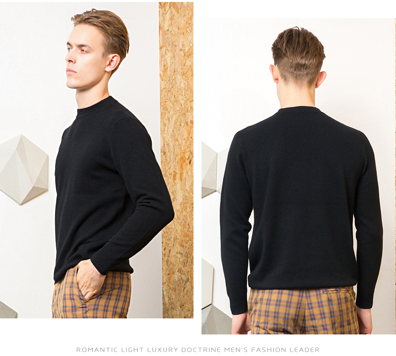 Áo len lông cừu nam Pierre Cardin 2017 180XL70 80KG YR006 - ảnh 19