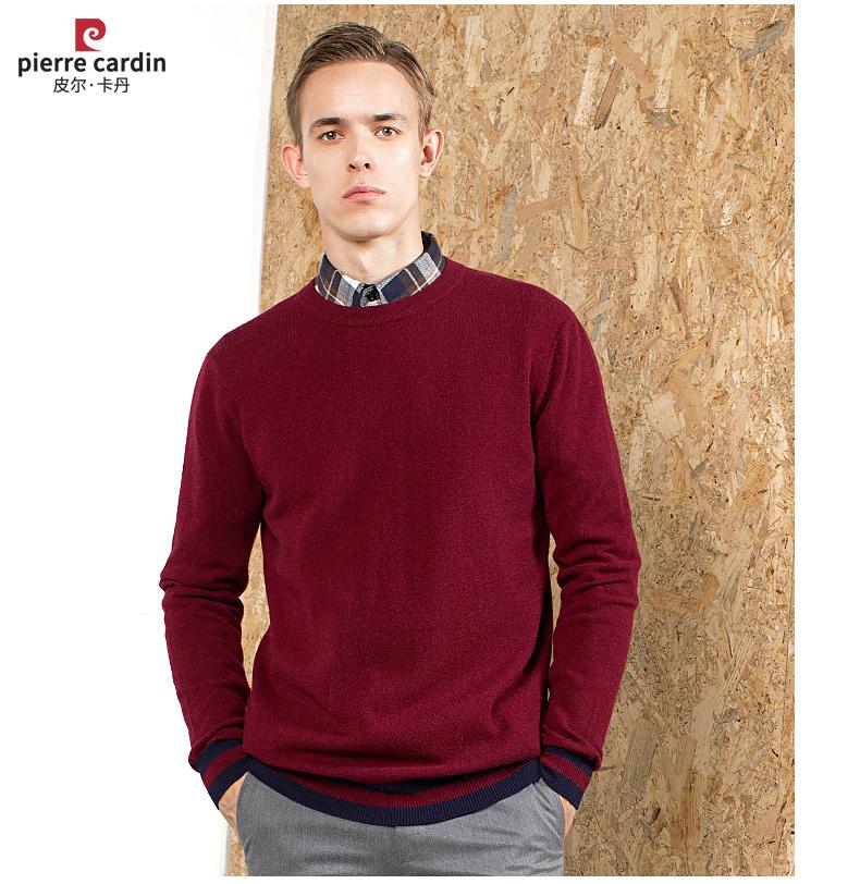 Áo len lông cừu nam Pierre Cardin 2017 175L65 70KG WA096 - ảnh 18