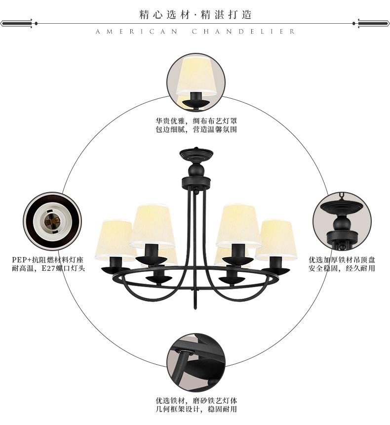 Đèn trùm  NVC 17808410364 - ảnh 5