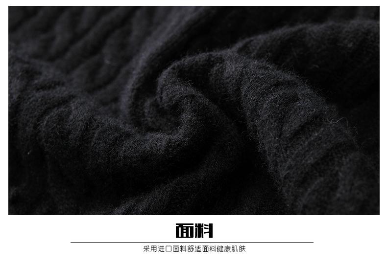 Áo len lông cừu nam Pierre Cardin 2017 180XL70 80KG WA78208 - ảnh 20
