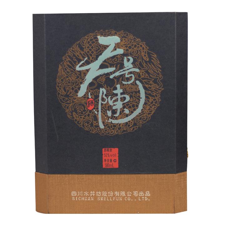 白酒 国产名酒 水井坊天号陈陶瓶52度 500ML