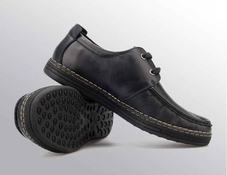 意式风尚自由运动皮鞋
