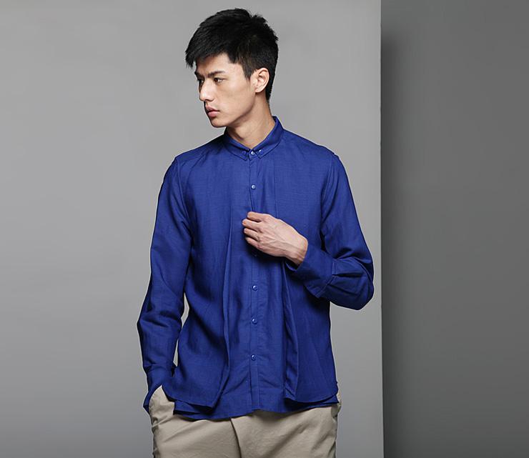 男装衬衣结构图