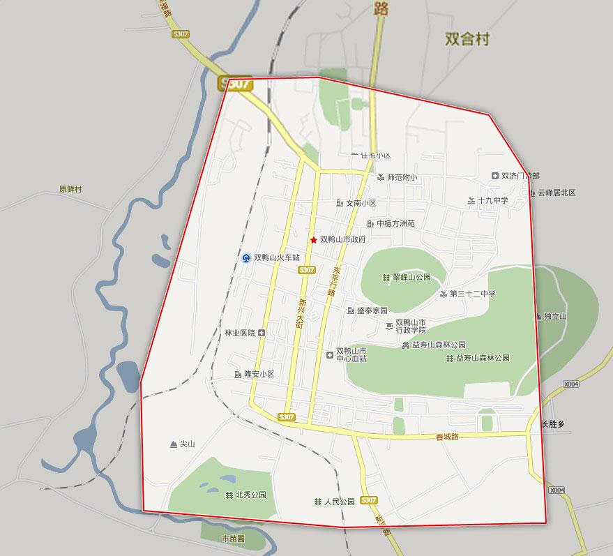 查看详细地图 哈尔滨市