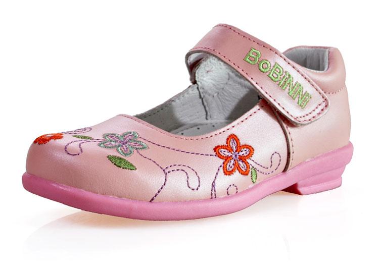 真皮时尚女童鞋
