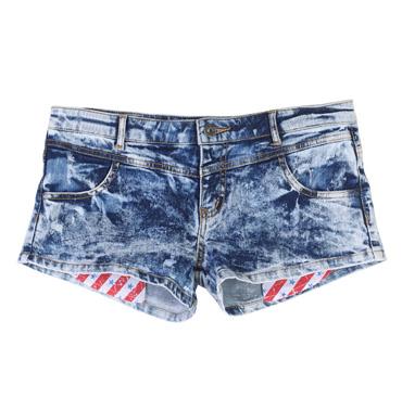 超短牛仔裤mm_【图】平口超短牛仔裤~-美丽说,五角星 ...