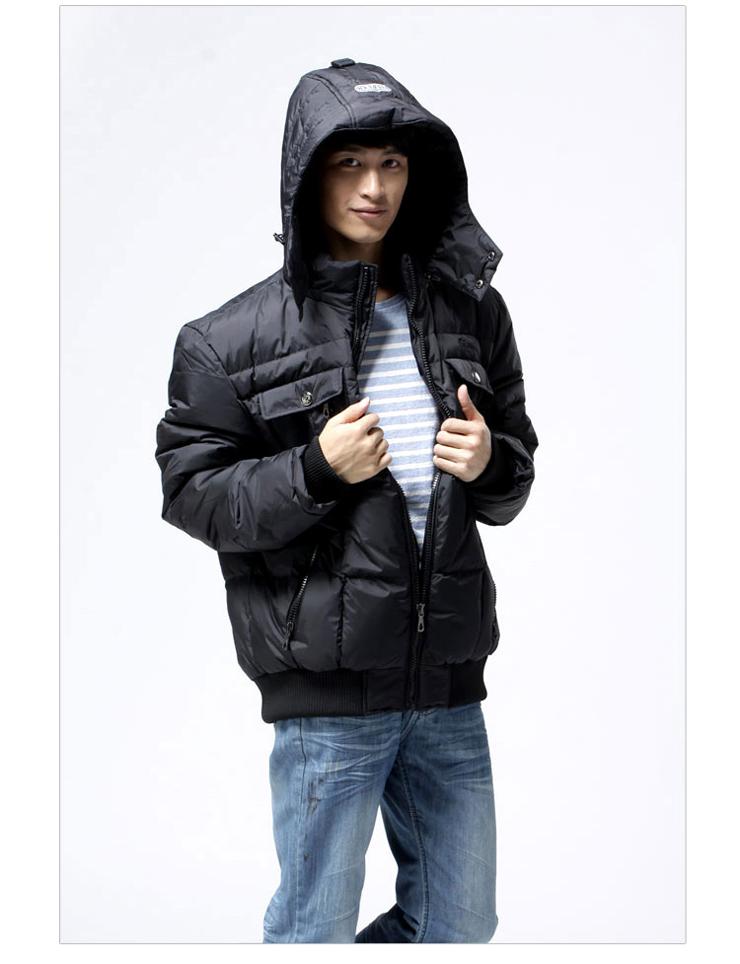 时尚流行男款棉袄