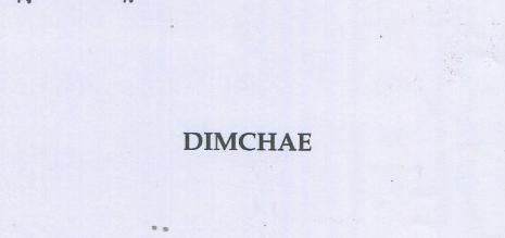 DIMCHAE