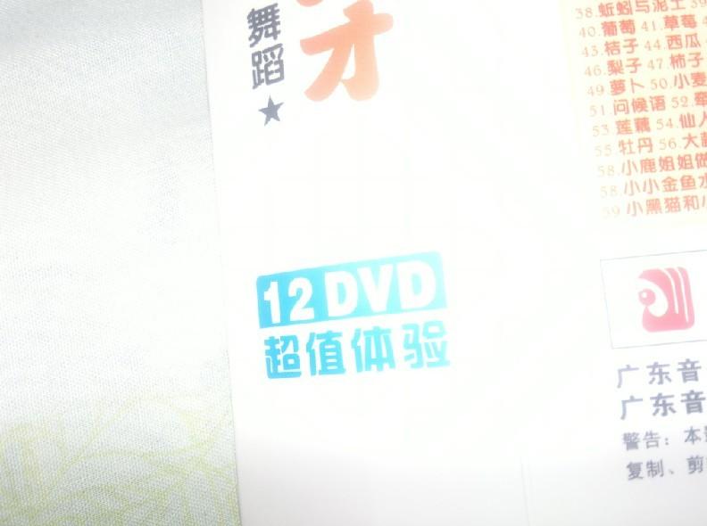 兒童啟蒙必備:全能小天才(12DVD)(京東專賣) 實拍圖