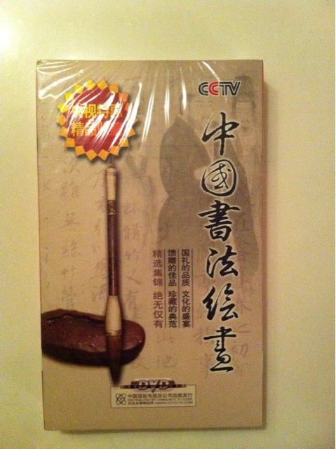 中國書法繪畫(16DVD) 實拍圖