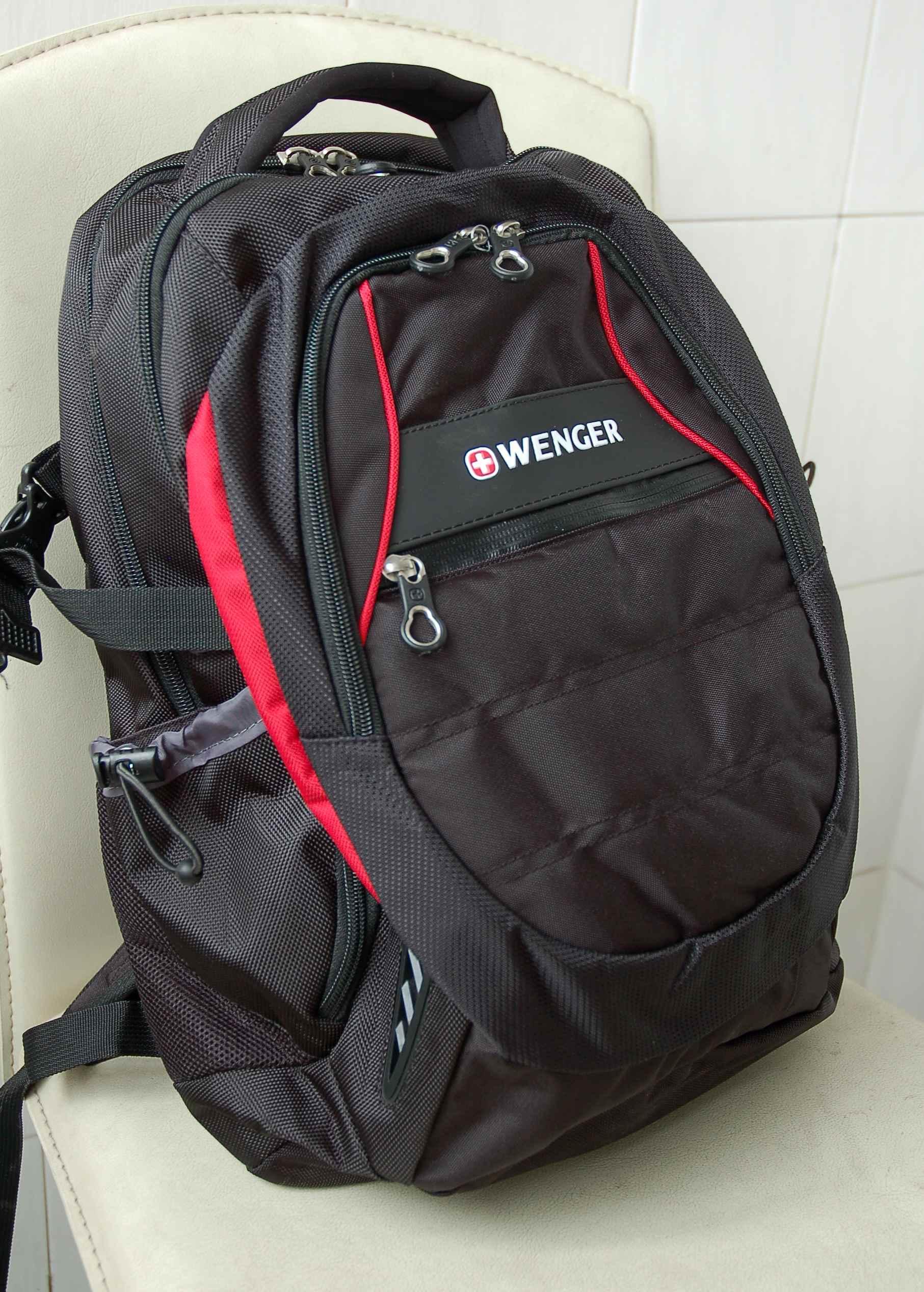 瑞士军刀威戈wenger涤纶14寸电脑背包sab87510190048