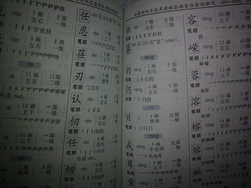 小学生笔画部首结构字级笔顺标准字典 说词解字