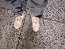 BVFS男靴新品马丁靴男中帮工装鞋男时尚休闲靴子男厚底拉链休闲鞋男 沙色 39标准皮鞋码