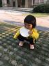 幸福玛丽儿童鞋女童春秋新款飞织鞋宝宝运动鞋户外鞋子男童机能鞋 黑色 12.5cm/16码
