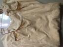 法國KJ塑身衣無痕連體彈力束身衣產后收腹帶提臀束腰塑身褲腰封美體托胸性感瘦身衣女士身材管理器塑形內衣 后脫膚色+黑色 XS建議90-110斤 實拍圖