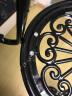 花架铁艺 阳台花架简约室内客厅花架子多层铁艺落地式花盆架绿萝花架吊兰多肉置物架 黑色