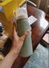 小熊(Bear)暖奶器 恒温调奶瓶 婴儿保温奶瓶套玻璃宽口径新生儿热奶可随身携带 TNQ-A02H1