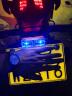 美蒂亚摩托车灯尾灯爆闪led七彩改装电动灯刹车灯五羊本田通用雅马哈警示灯