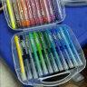 法国马培德(Maped) 水彩笔 可水洗水彩笔 12/18/24/36色 儿童绘画彩笔 画笔 18色纸盒(买即送3D卡通贴纸)