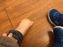 Skechers斯凯奇童鞋 春夏新款魔术贴舒适儿童运动鞋 男童简约休闲宝宝学步鞋98120N 宝蓝色/黑色/RYBK 25码/鞋内长15cm