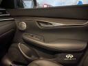 青山铁将 18-20款英菲尼迪QX50改装木纹中控排挡面板框18款新QX50中控防刮汽车装饰件贴 18-19款QX50中控面板 黑钛款