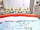 南极人家纺床头靠垫靠枕 双人床头软包榻榻米靠背 床上三角大靠垫沙发靠背护腰靠 银石灰-可拆洗 长150宽20高50cm