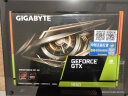 技嘉(GIGABYTE) GeForce 1650 WINDFORCE OC D6 4G 2.0版本 GDDR6 游戏显卡 实拍图