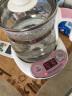 小熊(Bear)奶瓶消毒器10L单灯管 婴儿紫外线消毒柜 宝宝餐具玩具多功能消毒锅 薄桃粉 XDG-A01L1