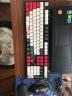 阿米洛(Varmilo)花旦娘机械键盘VA108键 德国cherry红轴办公键盘 送礼键盘 电脑键盘 无灯