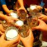 捷克进口BOHEMIA创意水晶玻璃威士忌酒杯啤酒杯玻璃茶水杯 洋酒杯酒具 冰河酒杯【单只】