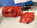 金火把螃蟹帶蓋煙灰缸大號個性創意工藝禮品家用辦公室擺件教師節送老師爸爸老公男朋友父親禮物 實拍圖