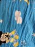 2.35米宽幅纯棉卡通布料棉布料床品面料宝宝全棉儿童被套床单布料 橙色一米