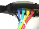 山澤(SAMZHE)超五類網線 CAT5e類高速百兆網線 1.5米 工程/寬帶電腦家用連接跳線 成品網線 紅色 WXH-015C 實拍圖