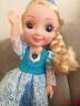 挺逗芭比娃娃套裝冰雪奇緣艾莎公主智能娃娃會說話的仿真洋娃娃女孩玩具 二代艾莎藍色 實拍圖
