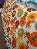 帆布布料桌布窗帘沙发抱枕卡通印花加厚帆布手工diy布头纯棉布料 海底世界(半米价)